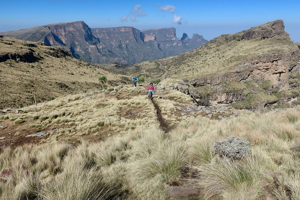 Roger and team scale the Simien Mountain Range - The Urology